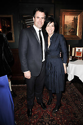 KENNY LOGAN and SHARLEEN SPITERI at the Johnnie Walker Blue Label great Scot Award 2010 in association with The Spectator and Boisdale held at Boisdale of Belgravia, 22 Ecclestone Street, London SW1 on 24th February 2010.
