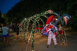 O projeto Visita Guiada no Parcão faz parte do Brilha Porto Alegre, que tem o objetivo de deixar a Capital mais atraente para turistas nessa época do ano.. FOTO: Jefferson Bernardes/ Agência Preview