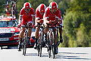 Team Cofidis during the Tour de France 2018, Stage 3, Team Time Trial, Cholet-Cholet (35 km) on July 9th, 2018 - Photo Luca Bettini/ BettiniPhoto / ProSportsImages / DPPI