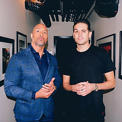 "Dwayne Johnson releases a photo on Instagram with the following caption: ""Eyebrows up. \nPromoting #JUMANJI and ran into this G @g_eazy. \nSo the fucked up backstory here is one of my team members came into my dressing room and said \u201chey is it cool if a rapper wants to meet you\u201d... I said of course and I step out without even asking who I was meeting. Shake hands with G and his people, have some small talk about his new album #TheBeautifulAndTheDamned and my movie, take some pics and then we\u2019re out. \nGet back to my dressing room, think to myself \u201cWhy does this dude sound so familiar\u201d and then realize \u201cFuck I workout to this man\u2019s music all the time!\u201d Wish I had the chance to tell him. \nAppreciate your music man and thanks for keeping my workout sessions not only hard core but striking a chord to deeper layers. \nFor the record, I\u2019m notorious for not realizing the celebrities I\u2019m talking to.... once had a 15minute conversation with a dude who I swore was the lead singer in an R\u0026B funk band only to be told the next day it was Barry Bonds \ud83e\udd37\ud83c\udffe\u200d\u2642\ufe0f\ud83e\udd26\ud83c\udffe\u200d\u2642\ufe0f\ud83d\ude02."". Photo Credit: Instagram *** No USA Distribution *** For Editorial Use Only *** Not to be Published in Books or Photo Books ***  Please note: Fees charged by the agency are for the agency's services only, and do not, nor are they intended to, convey to the user any ownership of Copyright or License in the material. The agency does not claim any ownership including but not limited to Copyright or License in the attached material. By publishing this material you expressly agree to indemnify and to hold the agency and its directors, shareholders and employees harmless from any loss, claims, damages, demands, expenses (including legal fees), or any causes of action or allegation against the agency arising out of or connected in any way with publication of the material."