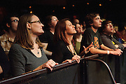 Fans enjoying the Old 97s performing at The Pageant in St. Louis, Missouri on January 31, 2012.