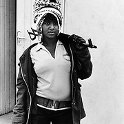 Eritre 1988. Lemlem, an EPLF fighter who had just taken part in the battle of Afabet.