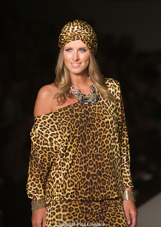 Charlie Brown Spring Summer 2010/11 Collection, Sydney, with special guest Nicky Hilton..Paul Lovelace Photography . An instant sale option is available where a price can be agreed on image useage size. Please contact me if this option is preferred.