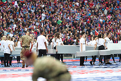 STARLIGHT DANCERS TINIE TEMPAH FA Cup Final, Crystal Palace v Manchester United , Saturday  21st May 2016