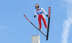 30.01.2016, Normal Hill Indiviual, Oberstdorf, GER, FIS Weltcup Ski Sprung Ladis, Bewerb, im Bild Barbara Blazkova (CZE) // Barbara Blazkova of Czech Republic during her Competition Jump of FIS Ski Jumping World Cup Ladis at the Normal Hill Indiviual, Oberstdorf, Germany on 2016/01/30. EXPA Pictures © 2016, PhotoCredit: EXPA/ Peter Rinderer