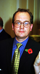 MR MARTIN TOWNSEND editor of OK! magazine, at a reception in London on 10th November 1999.MYX 33