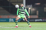 Forest Green Rovers Dan Wishart(17) during the EFL Trophy 3rd round match between Yeovil Town and Forest Green Rovers at Huish Park, Yeovil, England on 9 January 2018. Photo by Shane Healey.