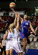 12/10/2013 WNBL Adelaide Lightning vs Canberra Capitals at Adelaide Arena.