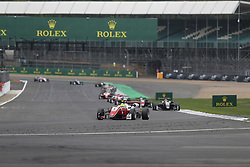 August 18, 2018 - Towcester, United Kingdom - MICK SCHUMACHER of Germany and Prema Theodore Racing drives during the 2018 FIA Formula 3 European Championship race 2 at Silverstone Circuit in Towcester, United Kingdom. (Credit Image: © James Gasperotti via ZUMA Wire)