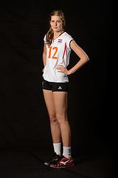 28-06-2013 VOLLEYBAL: NEDERLANDS MEISJES VOLLEYBALTEAM: ARNHEM <br /> Selectie Jeugd Oranje meisjes seizoen 2013-2014 / Tessa Polder<br /> ©2013-FotoHoogendoorn.nl