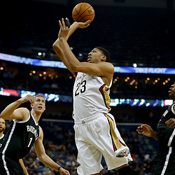 03-24-2014 Brooklyn Nets at New Orleans Pelicans