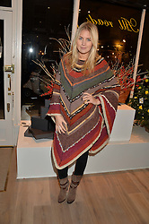 MARISSA MONTGOMERY at a party hosted by Melissa Del Bono to celebrate the launch of her Meli Melo flagship store at 324 Portobello Road, London W10 on 28th November 2013.