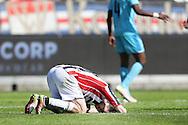 01-05-2016 VOETBAL:WILLEM II - FEYENOORDTILBURG<br /> Erik Falkenburg van Willem II teleurgesteld na afloop van de wedstrijd <br /> <br /> <br /> Foto: Geert van Erven