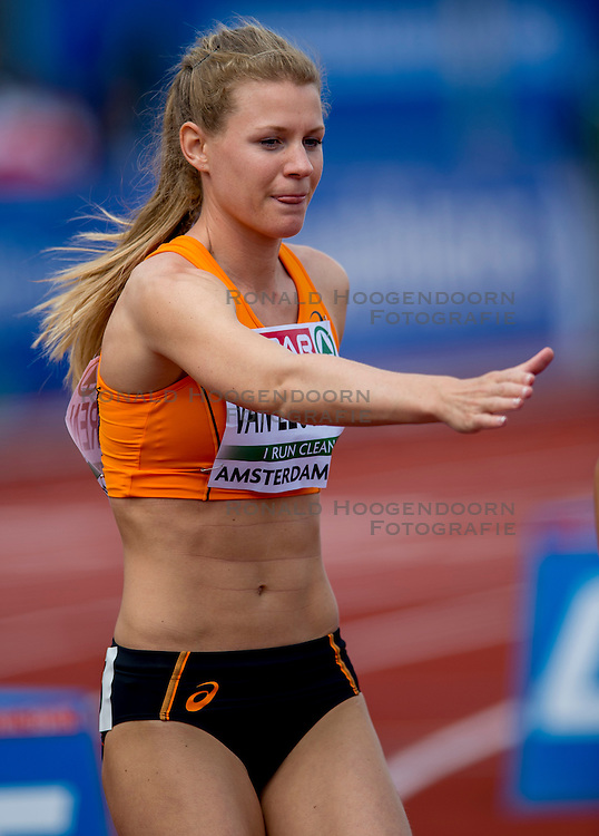 06-07-2016 NED: European Athletics Championships, Amsterdam<br /> Nicky van Leuveren NED