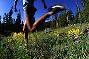 Detail of Woman (MR 615) Runner's Feet