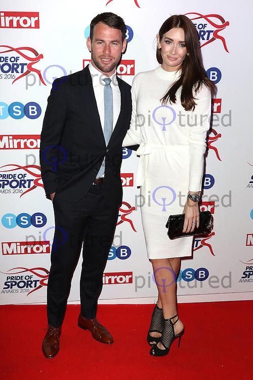 Mark Cavendish, Peta Todd, Pride of Sport Awards, Grosvenor House Hotel, London UK, 07 December 2016, Photo by Richard Goldschmidt