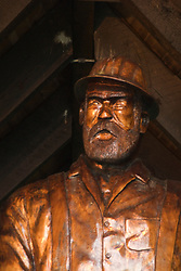 Loggers Memorial Statue, Forks, Washington, US