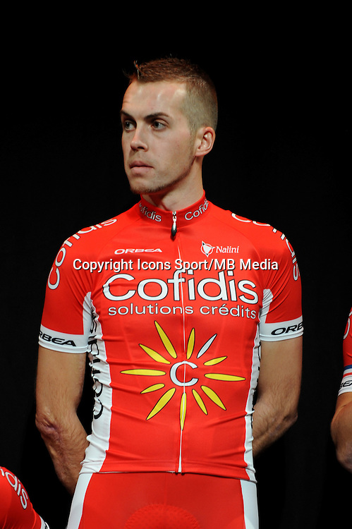 Arnaud GEORGE - 23/01/2015 - presentation de l equipe Cofidis <br />photos : Gautier Demouveaux / Icon Sport