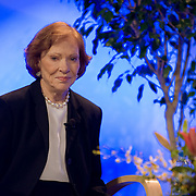 Former First Lady Rosalyn Carter speaks at the APA conference in San Diego. Event photography by Dallas event photographer William Morton of Morton Visuals.