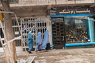 Afghanistan. Kabul. chicken street , shop and sellers of antiques