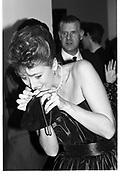 Baroness Francesca Thyssen. Opening of the Thyssen-Bornemisza collection exhibition. Royal Academy. 15 October 1984. © Copyright Photograph by Dafydd Jones 66 Stockwell Park Rd. London SW9 0DA Tel 020 7733 0108 www.dafjones.com