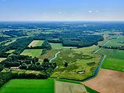Nederland, Overijssel, Gemeente Dalfsen ; 21–06-2020; Vechtdal in Salland, Landgoed de Horte, even ten zuidwesten van Dalfsen. Eigendom Landschap Overijssel.<br /> Country Estate.<br /> <br /> aerial photo (additional fee required)<br /> copyright © 2020 foto/photo Siebe Swart