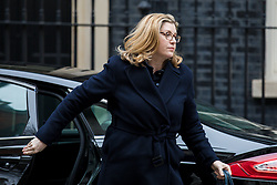 © Licensed to London News Pictures. 13/03/2018. London, UK. Secretary of State for International Development Penny Mordaunt on Downing Street for the Cabinet meeting. Photo credit: Rob Pinney/LNP