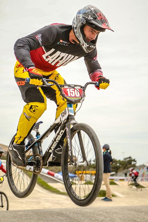 2018 UCI World Championships<br /> Baku, Azerbaijan<br /> Cruiser - 25-29 Men #150 (TREIMANIS Roberts) LAT