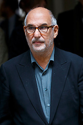 © Licensed to London News Pictures. 05/03/2016. London, UK. ALAN YENTOB leaving Rupert Murdoch and Jerry Hall's wedding ceremony at St Bride's Church in Fleet Street, London on Saturday, 5 March 2016. Photo credit: Tolga Akmen/LNP