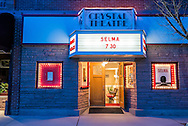The Crystal Theatre movie theater in Carbondale, Colorado.