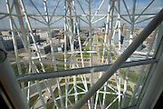 The Baiterek is the New Astana's main symbol and landmark. View from the elevator.