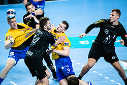 Josip Šarac of RK Celje Pivovarna Lasko during handball match between RK Celje Pivovarna Lasko (SLO) and RK PPD Zagreb (CRO) in 7th Round of EHF Champions League 2019/20, on November 10, 2019 in Arena Zlatorog, Celje, Slovenia. Photo Grega Valancic / Sportida
