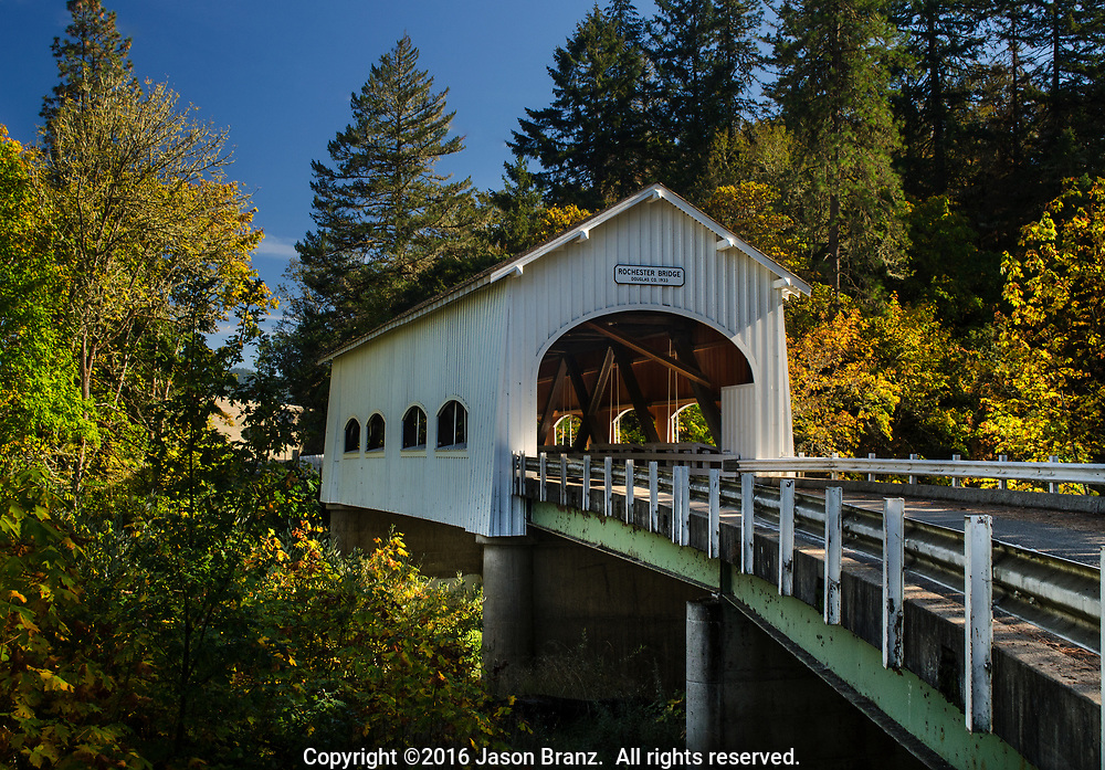 Rochester Covered Bridge, Douglas County, Oregon