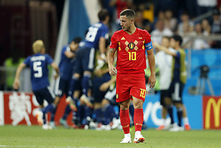 Eden Hazard of Belgium during the 2018 FIFA World Cup Russia round of 16 match between Belgium and Japan at the Rostov Arena on July 02, 2018 in Rostov-On-Don, Russia
