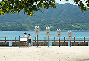 Visiting Okunoshima, aka Rabbit Island in Hiroshima Prefecture Japan.