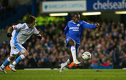 London, England - Tuesday, January 23, 2007: Chelsea's Claude Makelele against Wycombe Wanderers during the League Cup Semi-Final 2nd Leg match at Stamford Bridge. (Pic by Chris Ratcliffe/Propaganda)