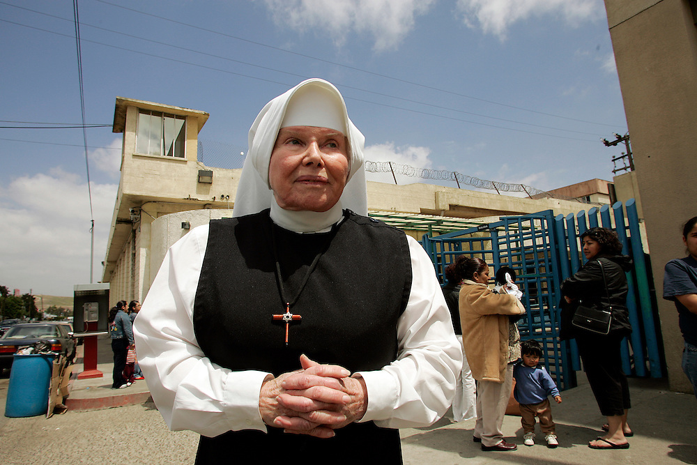 Mother Antonia moved out of her Beverly Hills, CA home in 1973 and into one of Latin America's most notorious prisons where she continues to minister to the inmates at La Mesa penitentiary in Tijuana, Mexico. Mother Antonia visits inmates in their cells and in the prison hospital, counsels new inmates and provides spiritual guidance to the incarcerated men and women.