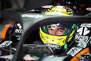 September 2, 2016: Sergio Perez (MEX), Force India , Italian Grand Prix at Monza