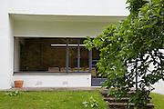 Side view exterior of Warren House, Wayne McGregor's Dartington Estate home in Devon<br /> Vanessa Berberian for The Wall Street Journal