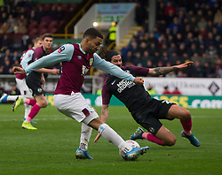 Aaron Lennon of Burnley crosses - Mandatory by-line: Jack Phillips/JMP - 04/01/2020 - FOOTBALL - Turf Moor - Burnley, England - Burnley v Peterborough United - English FA Cup