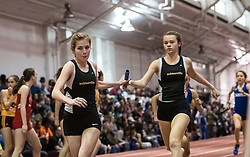 4x800 R during Hoosier State Relays, on 03, 25, 2017 Maria Anderson to Kat Dombrowski