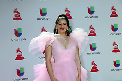 2018 Latin Grammy Awards MGM Grand Garden Arena MGM Grand Resort & Casino Las Vegas, Nv November 15, 2018. 15 Nov 2018 Pictured: Rosalia. Photo credit: KWKC/MEGA TheMegaAgency.com +1 888 505 6342