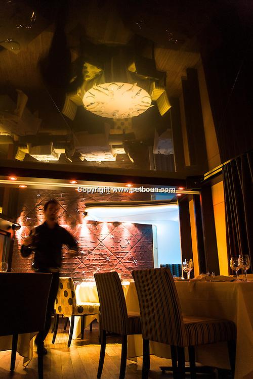Canada. Quebec. restaurant   / restaurant