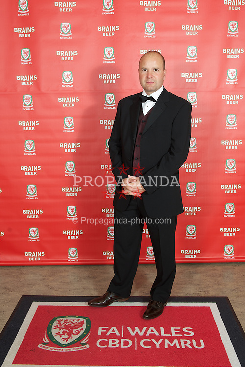 CARDIFF, WALES - Tuesday, October 4, 2011:  Wales' Chief-Executive Jonathan Ford arrives for the FAW Footballer of the Year Awards 2011 at the Wales National Museum. (Pic by David Rawcliffe/Propaganda)