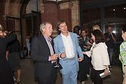 NICK MASON; MARC NEWSON, V & A Summer party. South Kensington. London. 22 June 2016