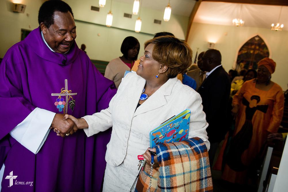 Worship at Trinity Lutheran Church Sunday, April 6, 2014, in Mobile, Ala. LCMS Communications/Erik M. Lunsford