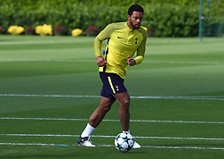 September 12, 2017 - Enfield, Greater London, United Kingdom - Tottenham Hotspur's Mousa Dembele.during a Tottenham Hotspur training session ahead of the UEFA Champions League Group H match against Borussia Dortmund  at Tottenham Hotspur Training centre on 12 Sept , 2017 in Enfield, England. (Credit Image: © Kieran Galvin/NurPhoto via ZUMA Press)