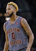 SOUTH BEND, IN - JANUARY 12: Ky Bowman #0 of the Boston College Eagles is seen during the game against the Notre Dame Fighting Irish at Purcell Pavilion on January 12, 2019 in South Bend, Indiana. (Photo by Michael Hickey/Getty Images) *** Local Caption *** Ky Bowman