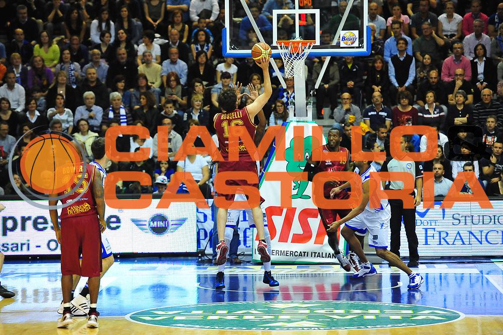 DESCRIZIONE : SASSARI LEGA A 2011-12 DINAMO SASSARI - UMANA VENEZIA<br /> GIOCATORE : GUIDO ROSSELLI<br /> SQUADRA : DINAMO SASSARI - UMANA VENEZIA<br /> EVENTO : CAMPIONATO LEGA A 2011-2012 <br /> GARA : DINAMO SASSARI - UMANA VENEZIA<br /> DATA : 02/05/2012<br /> CATEGORIA : TIRO<br /> SPORT : Pallacanestro <br /> AUTORE : Agenzia Ciamillo-Castoria/M.Turrini<br /> Galleria : Lega Basket A 2011-2012  <br /> Fotonotizia : SASSARI LEGA A 2011-12 DINAMO SASSARI - UMANA VENEZIA<br /> Predefinita :