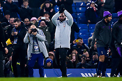 Gonzalo Higuain is introduced to the Chelsea fans at Stamford Bridge after completing a loan move from Juventus - Mandatory by-line: Robbie Stephenson/JMP - 24/01/2019 - FOOTBALL - Stamford Bridge - London, England - Chelsea v Tottenham Hotspur - Carabao Cup